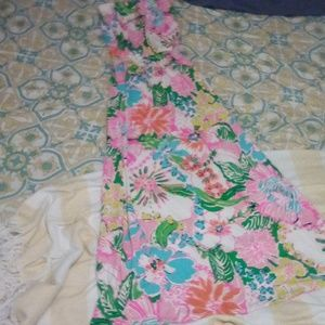 Lilly Pulitzer for Target strapless maxi dress